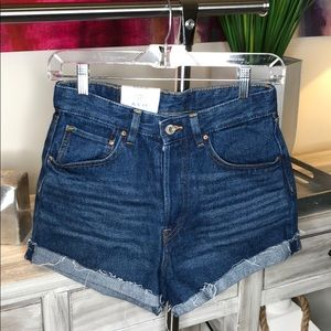 NWOT H&M High Waist Jean Shorts!